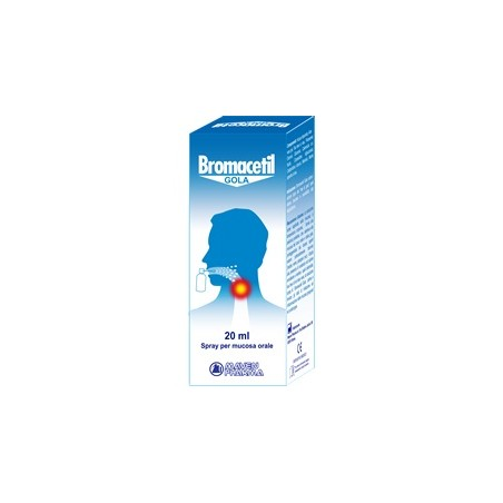BROMACETIL GOLA SPRAY 20ML