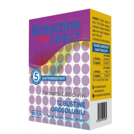BIOLACTINE FORTE DIRECT 12BUST