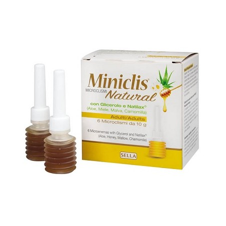 MINICLIS NATURAL MD AD 6PZ