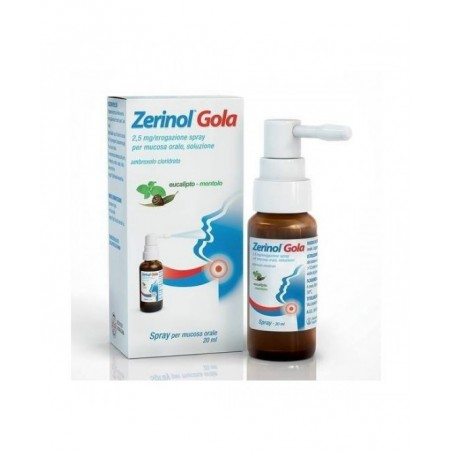ZERINOL GOLA%SPRAY FL 20ML