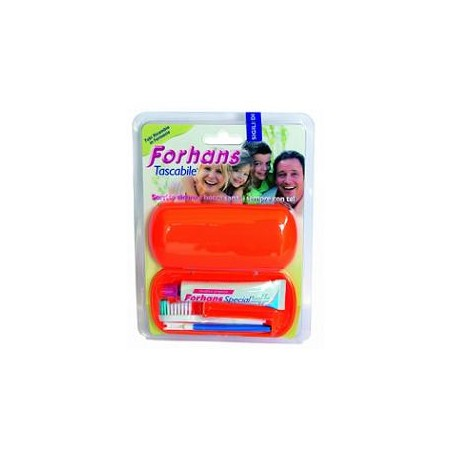 FORHANS SPAZ+DENTIF TRAVEL KIT