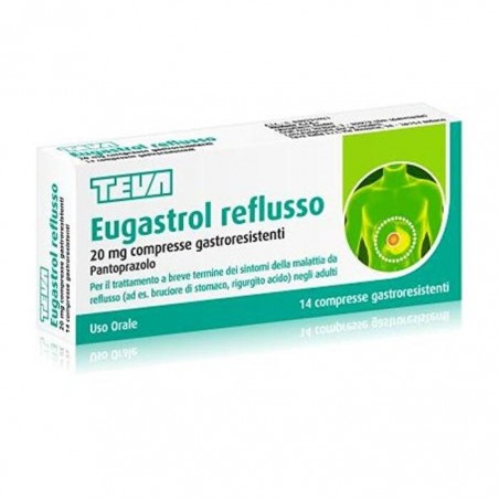EUGASTROL REFLUSSO%14CPR 20MG