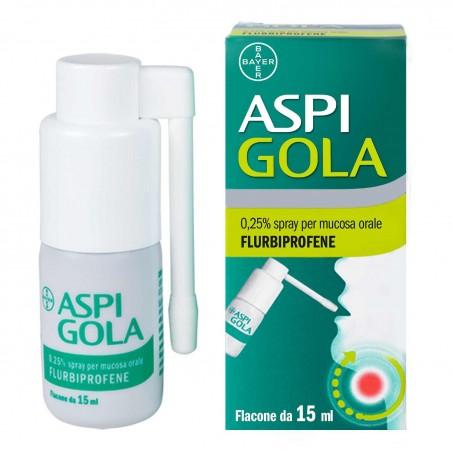 ASPI GOLA%OS SPRAY 15ML 0,25%