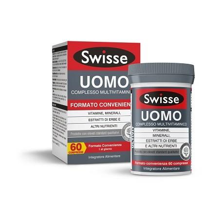 SWISSE UOMO MULTIVITAMIN 60CPR