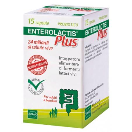 ENTEROLACTIS PLUS 15CPS