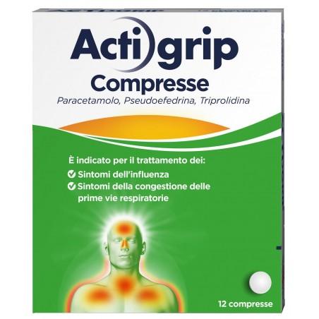 ACTIGRIP%12CPR 2,5+60+500MG