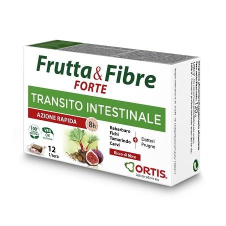 FRUTTA & FIBRE FORTE 12CUBETTI