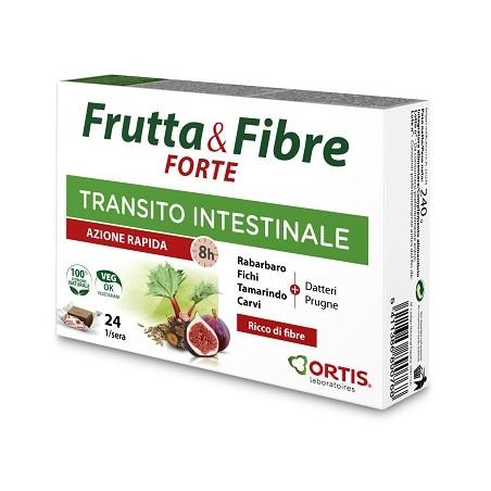 FRUTTA & FIBRE FORTE 24CUBETTI