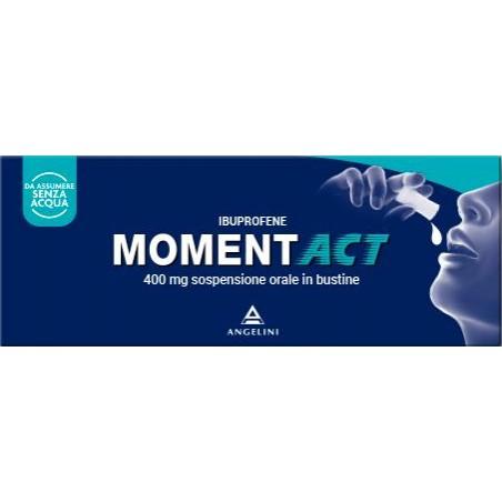 MOMENTACT%OS SOSP 8BUST 400MG