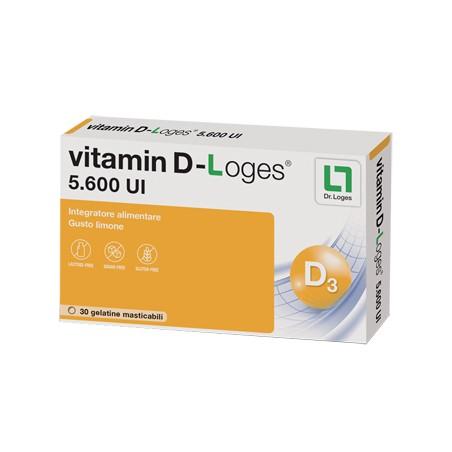 VITAMIN D-LOGES 30GEL-TABS
