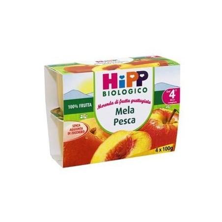 HIPP BIO FRU GRAT MEL/PE4X100G