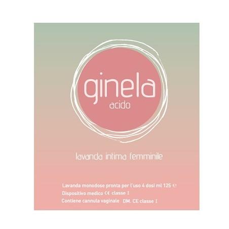 GINELA ACIDO LAVANDA IN4X125ML