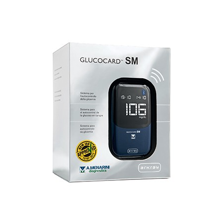 GLUCOCARD SM METER SET MG/DL