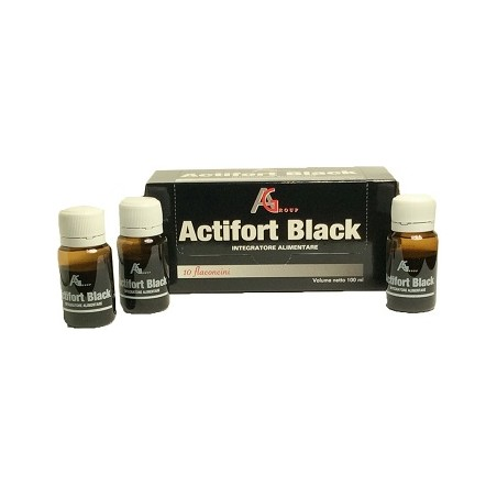 ACTIFORT BLACK 10FL 10ML