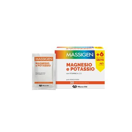 MASSIGEN MAGNESIO/POT 24+6BUST