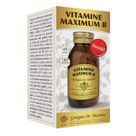 VITAMINE MAXIMUM B 180PAST