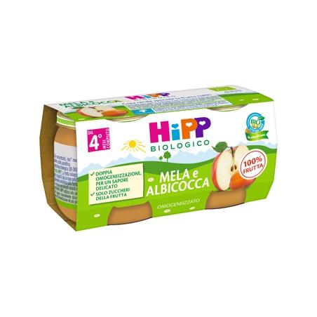 HIPP BIO OMOG ALB/MELA 2X80G