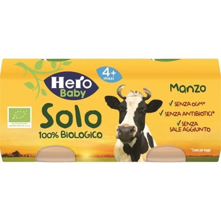 HERO SOLO OMOG MANZO BIO 2X80G