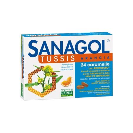 SANAGOL TUSSIS ARANCIA 24CAR