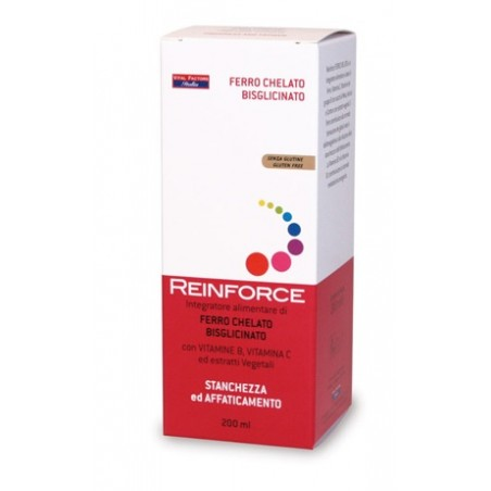 REINFORCE FERRO CHELATO 200ML