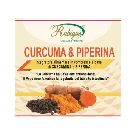 CURCUMA&PIPERINA RUBIGEN120CPR