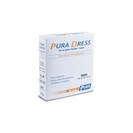 GARZA PURA DRESS 10X10CM 100PZ