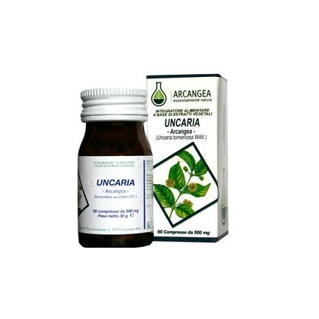 UNCARIA 60CPS 500MG
