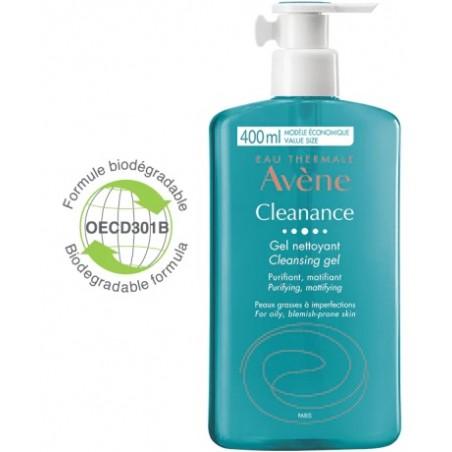AVENE CLEANANCE GEL DET NF400M