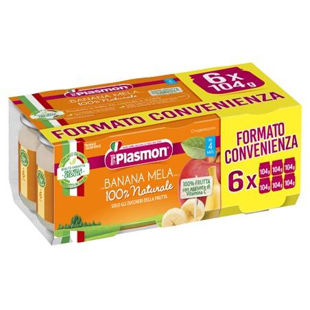 PLASMON OMOG BANANA/MELA6X104G