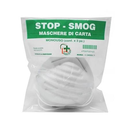 STOP-SMOG MASCHERE CARTA 3PZ