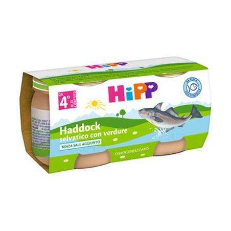 HIPP OMOG HADDOCK VERD 2X80G