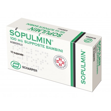 SOPULMIN%BB 10SUPP 100MG