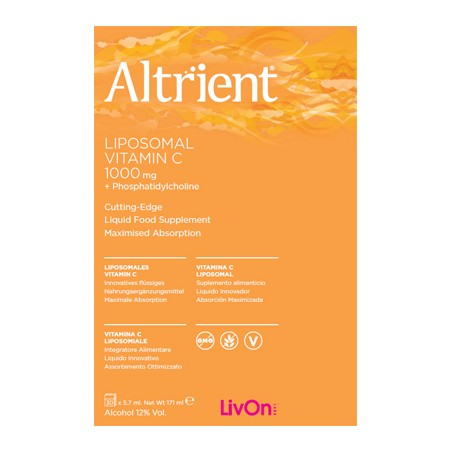 ALTRIENT LIPOSOMAL VITC 30BUST