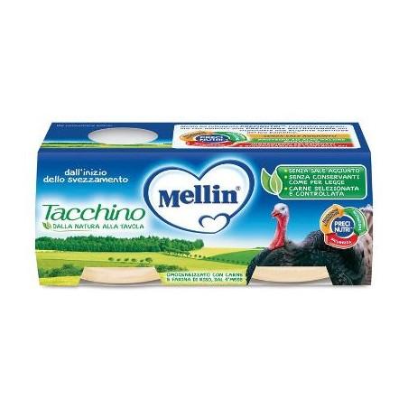 MELLIN OMOG TACCHINO 2X120G
