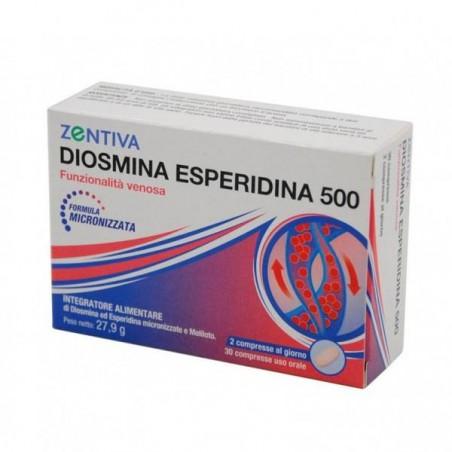 ZENTIVA DIOSMINA ESPE500 30CPR