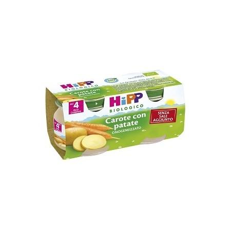 HIPP BIO OMOG CAROTE/PAT 2X80G