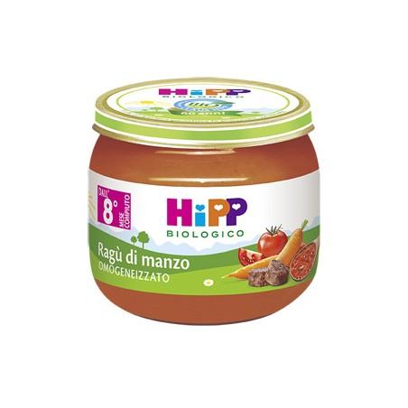 HIPP BIO SUGO RAGU MANZO 2X80G