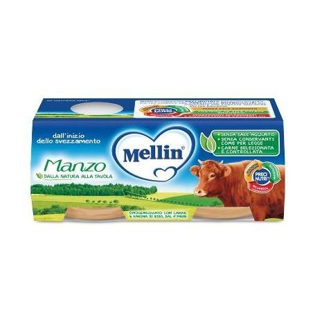 MELLIN OMOG MANZO 2X120G