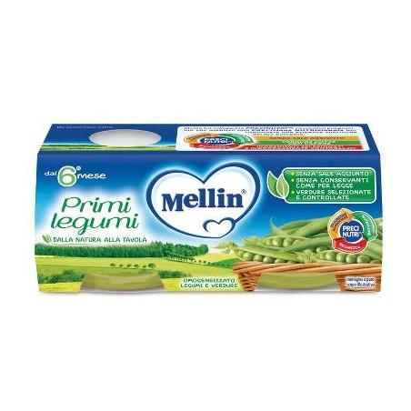 MELLIN OMOG PRIMI LEGUMI 2X80G
