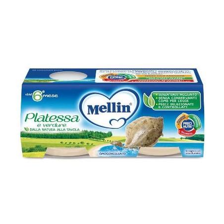 MELLIN OMOG PLATESSA 4X80G