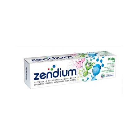 ZENDIUM DENTIFRICIO KIDS 75ML