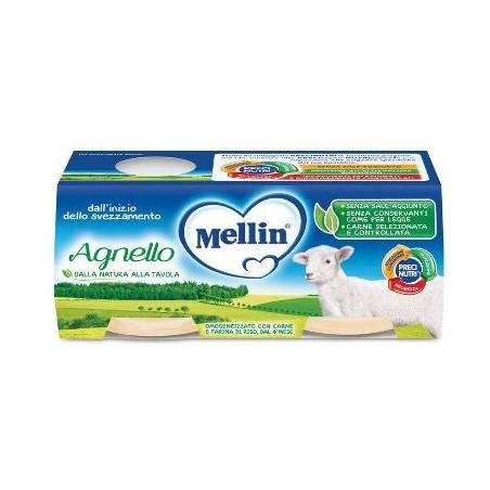 MELLIN OMOG AGNELLO 2X80G