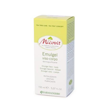MICOVIT EMULGEL VISO/CORPO 150